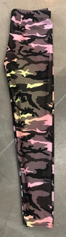 Dori Creations Leggings, Pastel Camo