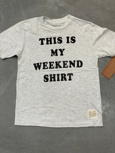 Retro Brand Tee, Weekend Shirt