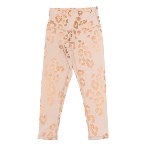 Spiritual Gangster - Lux Cheetah Leggings