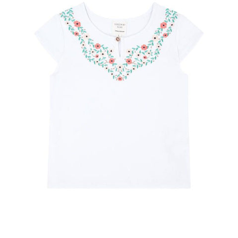 Carrément Beau Embroidered Tee