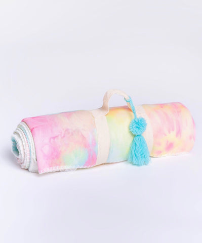 PJ Salvage - Cozy Blanket - Tie Dye