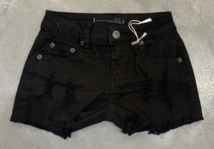Vintage Havana Black Denim Shorts