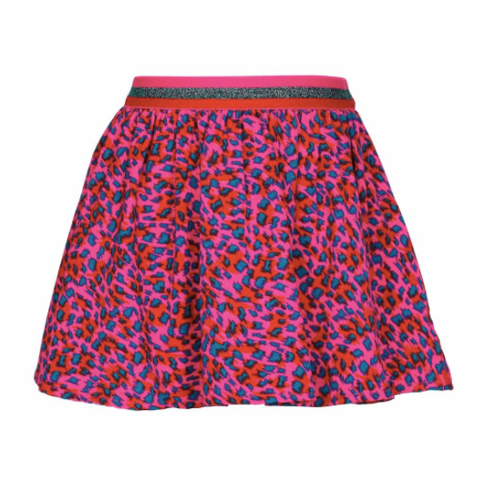 LE BIG Leopard Print Skirt