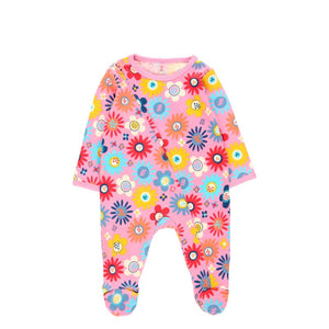 BOBOLI Girls Floral Playsuit