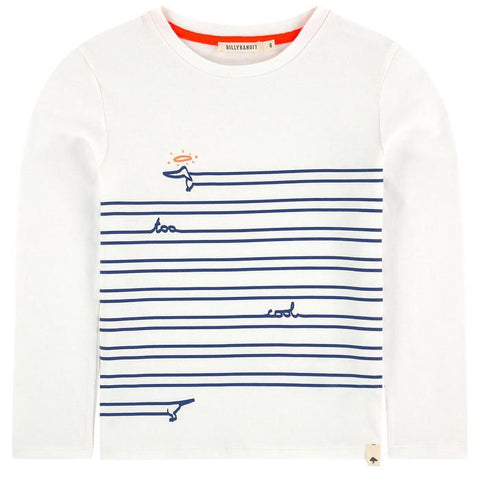BILLYBANDIT Boys Striped Long Sleeve Tee
