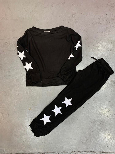 Tweenstyle - Black Star Pullover
