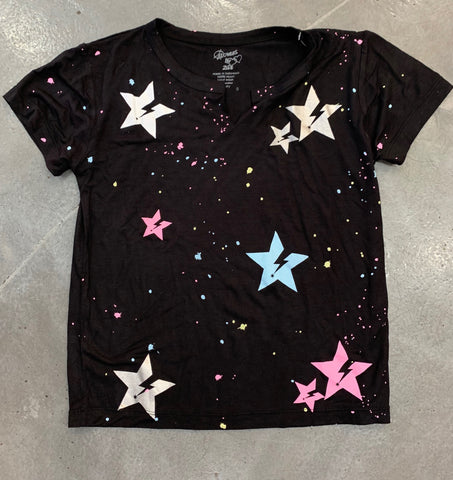 Flowers by Zoe Splatter Star Tee