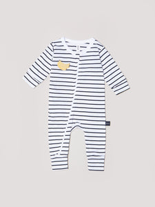 HUXBABY Striped Romper
