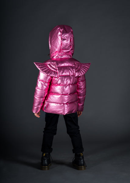 Rock Your Baby - Angel Puffer Jacket