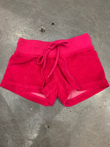 HARD TAIL Terry Cloth Shorts, Pink, Kids