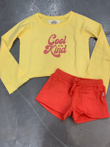 T2Love Long Sleeve Cool to be Kind Crew