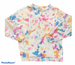Love Daisy - Tie Dye Splatter Top