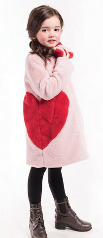 Imoga Frida Girls Coat - Powder