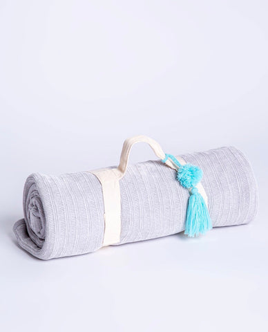 PJ Salvage - Grey Cozy Blanket