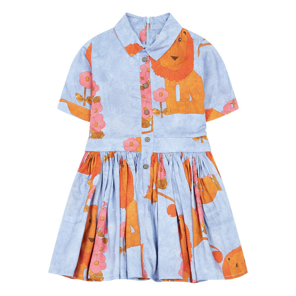 MORLEY Karen Lion Bleu Lakeland Girls Dress