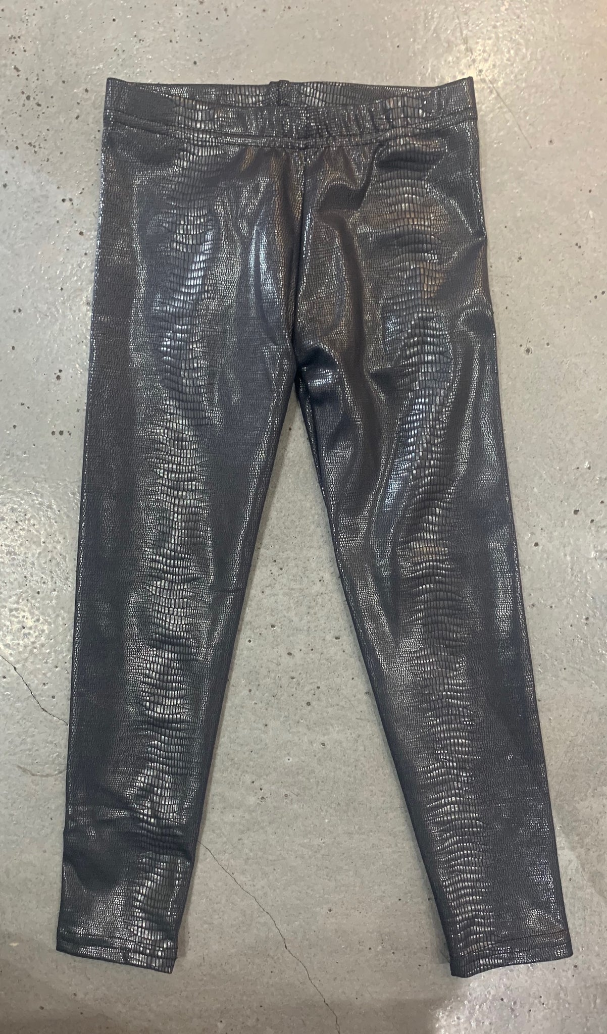 Dori Creations Leggings - Black Snake