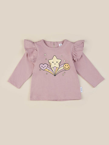 Huxbaby - STAR POWER FRILL TOP