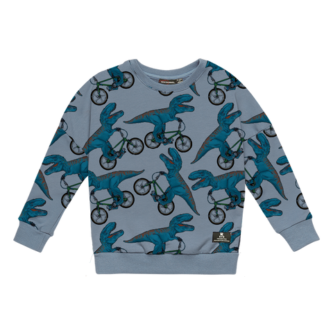 Rock Your Baby - Dino Bike - Baby Sweatshirt