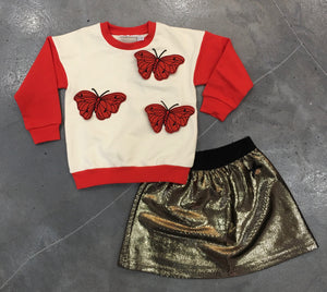 Mini Rodini Butterfly Sweatshirt
