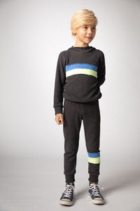 JOAH LOVE Carlo Boys Striped Sweatpants