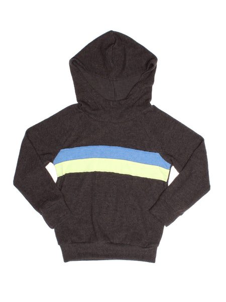 JOAH LOVE Conrad Boys Striped Hooded Sweatshirt