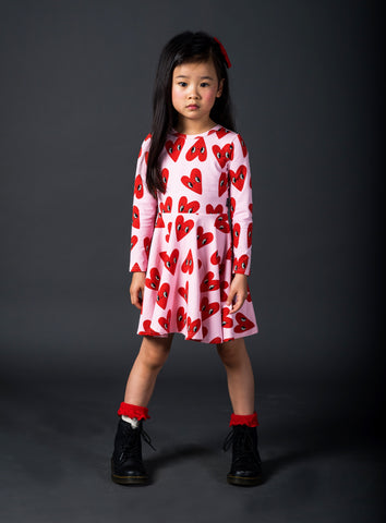 Rock Your Baby, More to Love Long Sleeve Dress