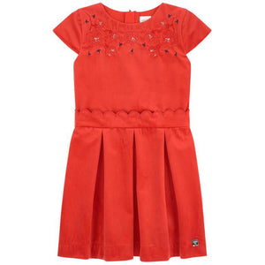 CARREMENT BEAU Girls Short Sleeve Dress