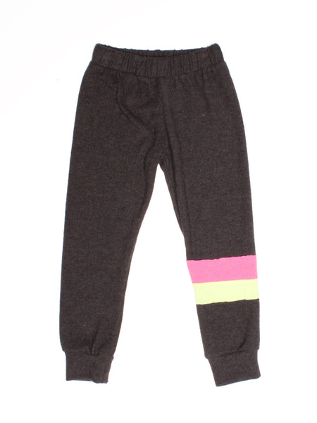 JOAH LOVE Carlo Girls Striped Sweatpants