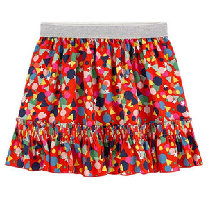 STELLA MCCARTNEY Girls Confetti Print Skirt