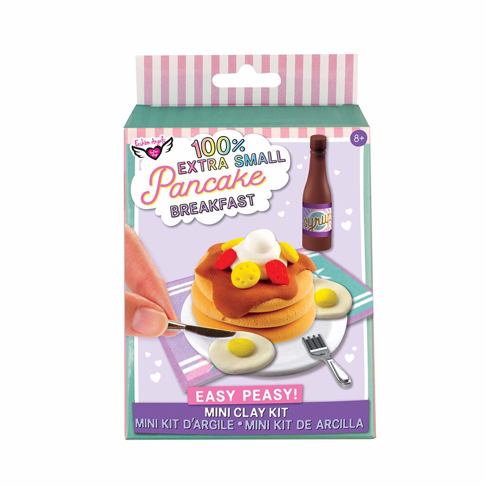 Fashion Angels - 100% EXTRA SMALL MINI CLAY KIT: PANCAKE BREAKFAST