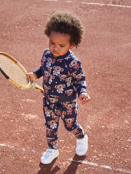 Huxbaby - TINY TENNIS DROP CROTCH PANT