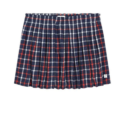 CARREMENT BEAU Girls Plaid Skirt