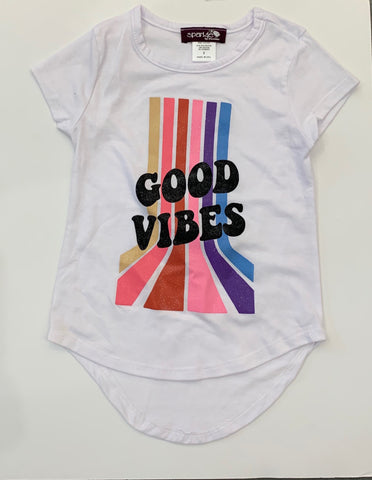 Sparkle by Stoopher Tee, Good Vibes