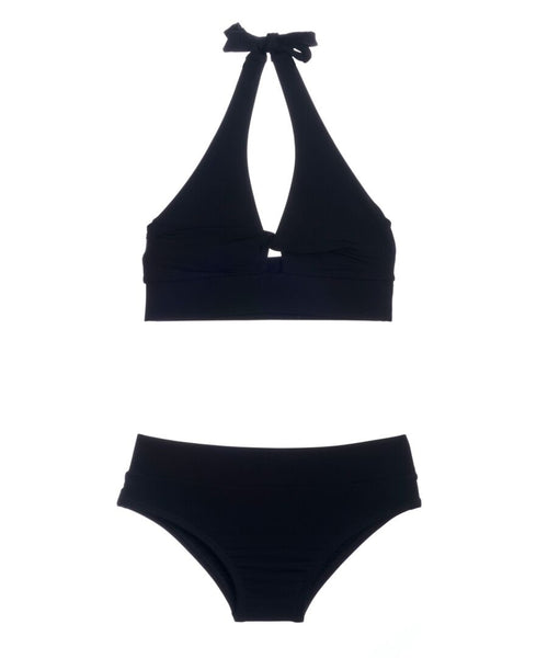 Submarine With a Twist Black Bikini