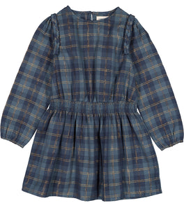 LOUIS LOUISE Girls Umette Plaid Dress