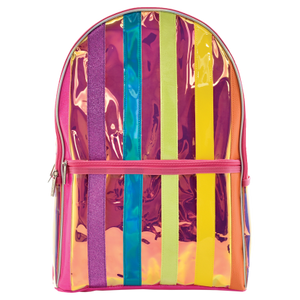 ISCREAM Iridescent Stripe Backpack