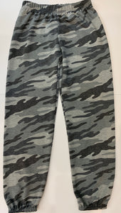 DORI CREATIONS Girls Grey Camo Sweatpants