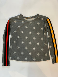 VINTAGE HAVANA Girls Long Sleeve Top w/ Stars