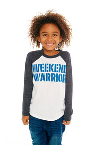 "CHASER Boys ""Weekend Warrior"" Long Sleeve Tee"