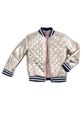 EGG BABY Rosalie Quilted Bomber Jacket
