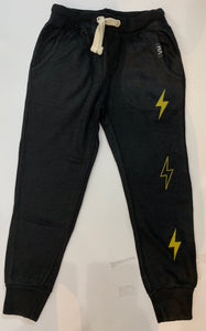 VINTAGE HAVANA Boys Sweatpants with Lightning Bolt