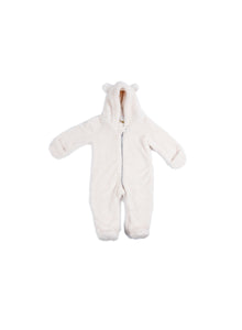 EGG BABY Fuzzy Bear Snowsuit