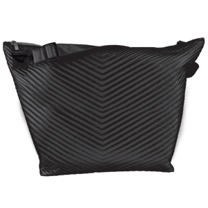 ISCREAM Black Chevron Weekender Bag