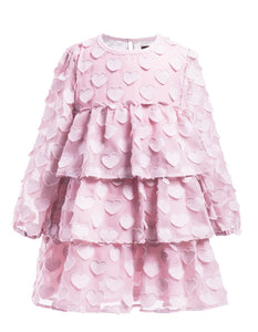 IMOGA Girls Juliet Heart Print Dress