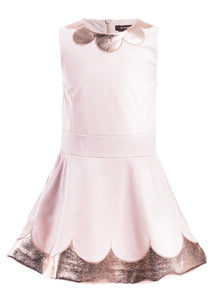IMOGA Girls Richie Sleeveless Scalloped Dress