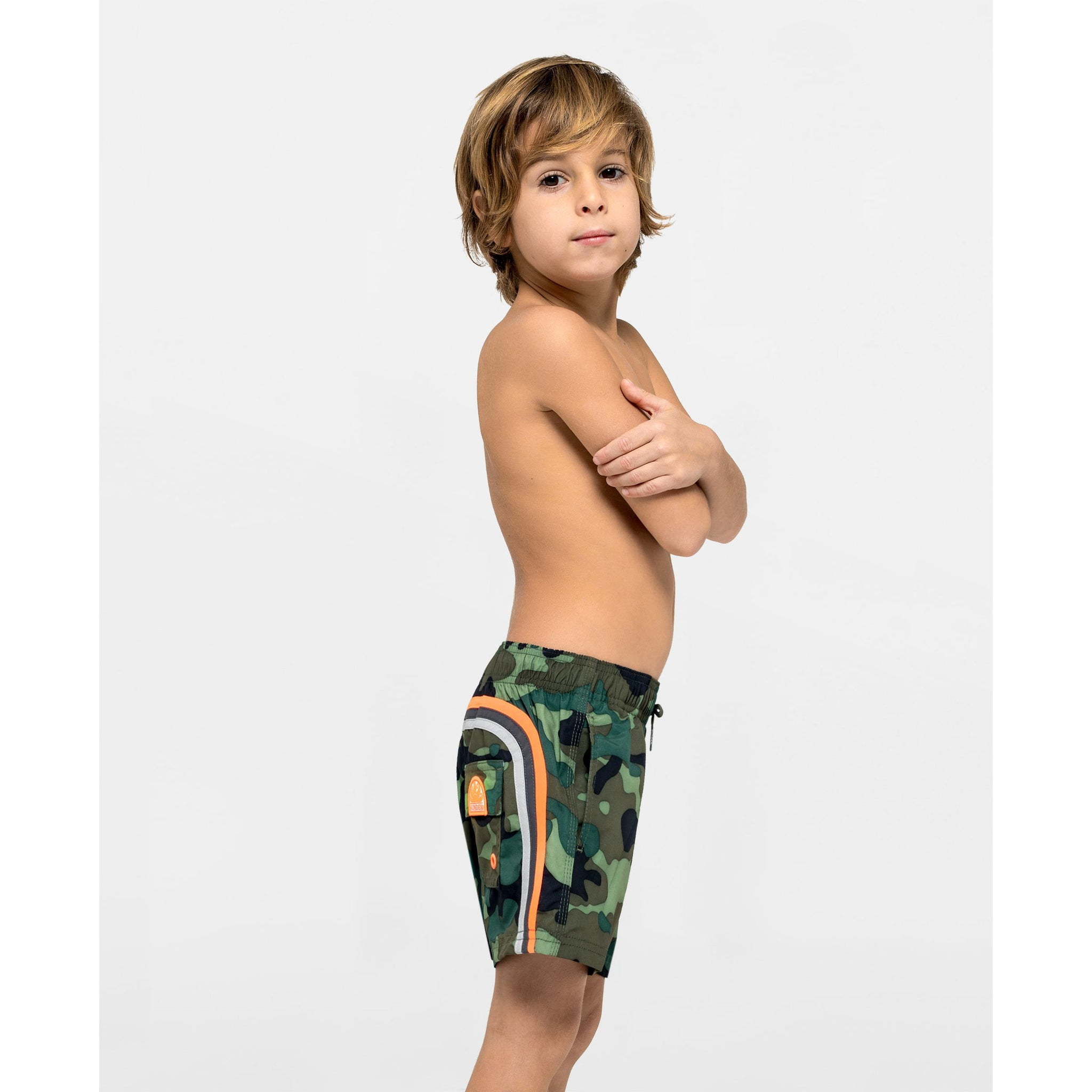 SUNDEK Camo Swim Trunks