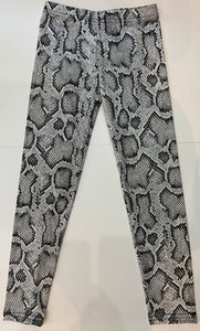 DORI CREATIONS Black Snake Leggings