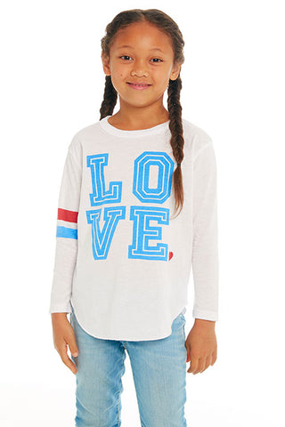 "CHASER Girls ""Love"" Long Sleeve Tee"