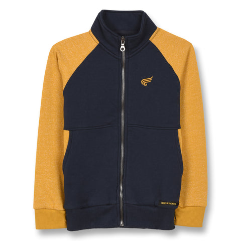 FINGER IN THE NOSE Boys Zip Up Tracksuit Top