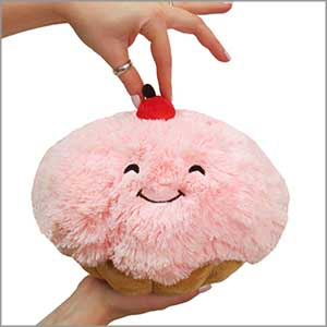 SQUISHABLE Mini Cupcake Pillow